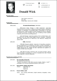 Pdf Resume Template Professional Examples Top Of Example For