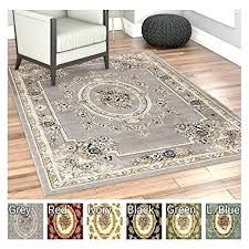 how to clean a large area rug easy to clean area rugs past medallion grey french