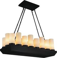 18 light candle chandelier with oil rubbed brown finish