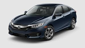 Civic Sedan Sleek And Sophisticated Honda