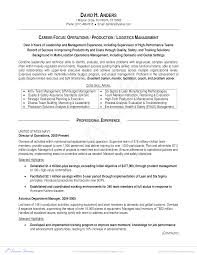 Free Military To Management Resume Templates At