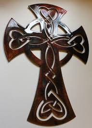 celtic ornamental cross metal wall art decor 1 of 4only 5 available