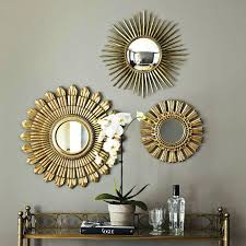 sunburst mirror wall decor luxury