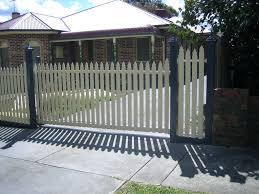 Picket Fence Gate Diy Wood Latches Plans demanditorg
