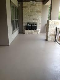 custom painted concrete patio custom