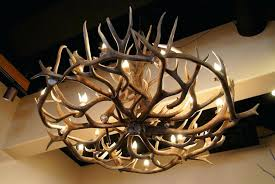 home design extraordinary ideas antler chandelier for elk 12 from fresh ideas antler chandelier