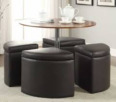 coffee table with nestedtomans tableth chairs under round glass wood home stools best gallery of tables furniture outstanding