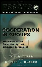 com cooperation in groups procedural justice social  cooperation in groups procedural justice social identity and behavioral engagement essays in social psychology 1st edition