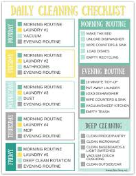 Zone Cleaning Chart For Kids Stay At Home Mom Cleaning Schedule Avalonit Net