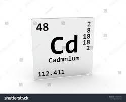 Component : Cadmium Symbol Element Periodic Table Stock Photo And ...