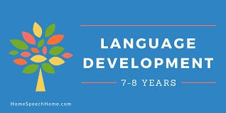 Narrative Development Chart Language Development In Children 7 8 Years Everything You