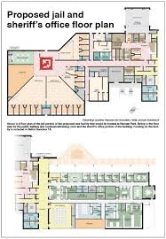 The office floor plan Office Break Room Proposed Jail And Sheriffs Office Floor Plan Thesynergistsorg Proposed Jail And Sheriffs Office Floor Plan The Pagosa Springs Sun