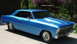 All Chevy chevy 2 : 1966 Chevy Ii Nova Ss Sport Rolling Chassis Pro Street Tour 66