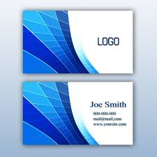 Free Download Cards Blue Business Card Design Psd File Free Download