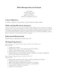 Resume Examples For Dental Assistants Beauteous Dental Office Manager Resume Sample Dental Office Er Resume Of