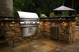 outdoor kitchen lighting. Popular Outdoor Kitchen Lighting Ideas With LightingOutdoor KitchenEnvironmental
