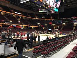 Rocket Mortgage Fieldhouse Section 123 Cleveland Cavaliers