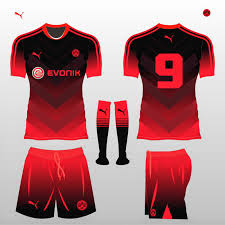 How To Design Football Jersey Football Kit Design Master Evonik Football Kit Design