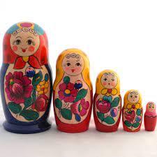 Con búp bê trong 5 búp bê Polkhovsky Đây mua tại Global Rus Trade