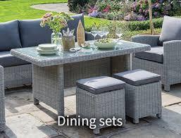 garden furniture wooden metal