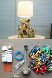 Diy Action Figure Table Lamp Tutorial Video Id Lights