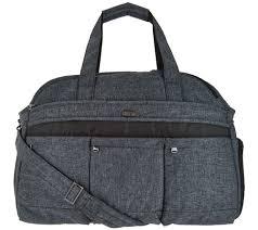 Luggage — QVC.com & Lug Quilted Weekender Bag - Airbus 2 - F12631 Adamdwight.com