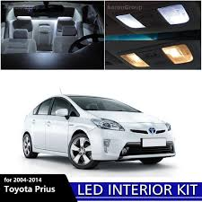 11PCS White Interior LED Light Package Kit For 2004 - 2014 Toyota ...