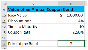 How To Calculate Bond Price In Excel