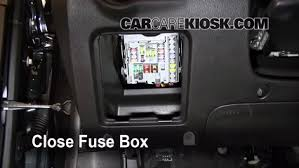 interior fuse box location 2011 2016 chevrolet cruze 2011  at 2017 Camaro Fuse Box Inside The Car Location