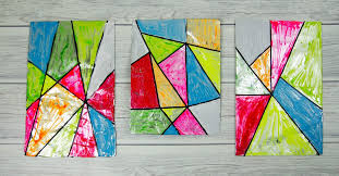 a fabulous faux stained glass art activity for children this is a fun and simple