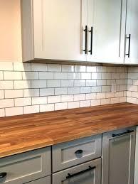 chop block countertop ikea subway tile meets butcher block interiors s butcher block countertops ikea installation