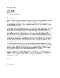 Pediatric Registered Nurse Cover Letter Sarahepps Com