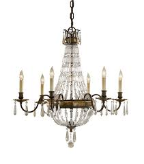 most recently released vintage chandeliers with paris 6 arm antique bronze crystal chandelier view 4