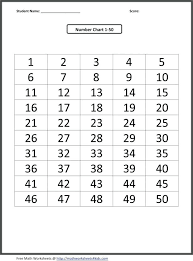 Blank Table Template Gorgeous Printable Number Chart 44 44 Kids Table R Blank Charts To Gram Large