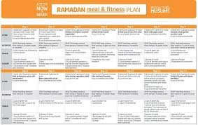 The Fasting And The Fit 30 Day Ramadan Meal And Fitness