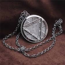 home kids accessories jewellery iron man tony stark arc reactor necklace