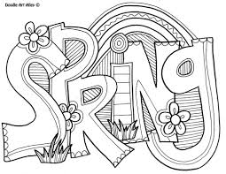 Spring Coloring Pages Oriental Trading Printable Coloring Page For
