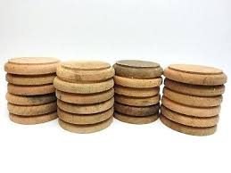 artistic wood pieces design. Circle Wood Pieces Solid Oak Disks Round Unfinished Blanks 3 1 4 In . Artistic Design L