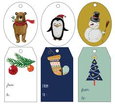 Adorable Christmas Labels To Download