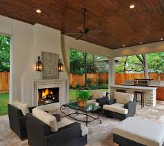 Outdoor Living Room U0026 Kitchen With Fireplace Itu0027s Like A Great Outdoor Great Room