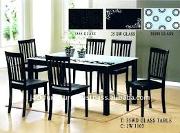 glass top wood dining table glass top wood dining table round glass top wood base dining table
