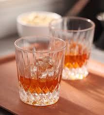 Marc Aurel Size Chart Marc Aurel Aurel King Edward Glass 360 Ml Whisky Glass Set Of 6