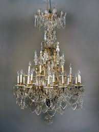 fantastic antique crystal chandeliers