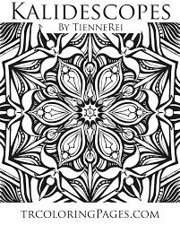 Small Picture Kaleidoscope Coloring Page Tienne Rei Fine Art
