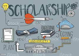 Scholarship Concept Stock Illustration - Download Image Now - iStock