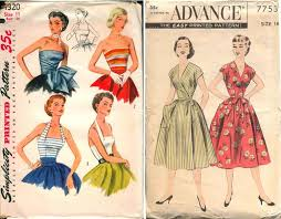 Retro Dress Patterns Amazing More Than 4848 Vintage Sewing Patterns On Vintage Patterns Wiki