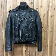 usa direct import first genuine leather size 38 leather jacket used usa touring leather jacket american rider s vintage