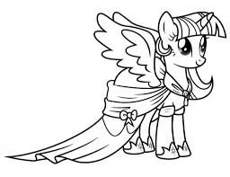 Download Tranh Tô Màu Ngựa Pony Mới Nhất