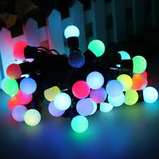 outdoor lighting balls. Furniture Feet Color Changing Led Ball String Pack Outdoor Lighting Balls