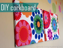 diy cork boards. Our Daily Routines (previously Just Taped To The Wall) Have Found A New Home! Cork-boards Are Little Bare, But Not For Long! Diy Cork Boards
